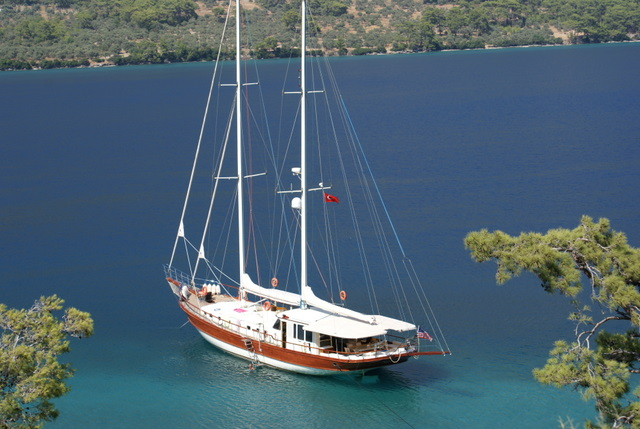 Gulet for charter in Turkey - Aegean Pearl